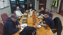 Dinner at the Westminster Fire Dept. 1Feb2018