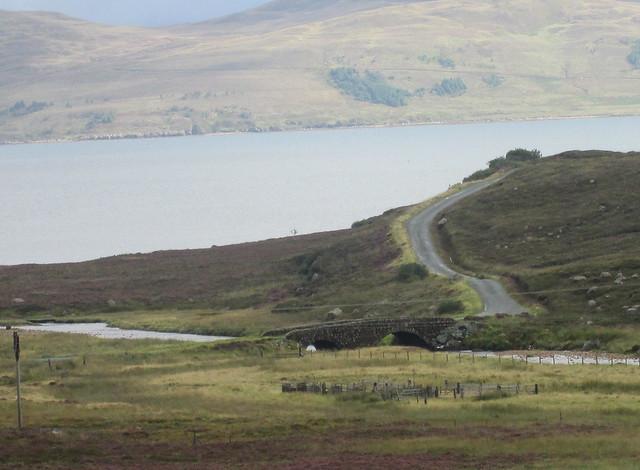 Bridge over Allt Coire Nam Bruadaram, Skye