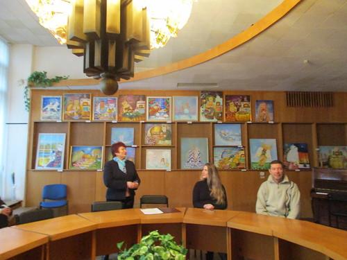 Презентація виставки О. Грек 07.02.18 Дружби народів