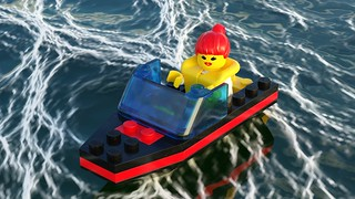 Time for More Ocean Fun in Blender and Mecabricks