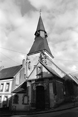 Eglise St-Jean (XVe-XVIe s.) de L'Aigle