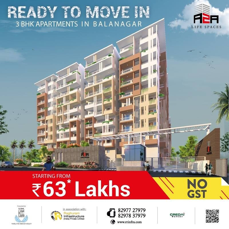 New Luxury Apartments Flats For Sale In Balanagar Hyder Flickr