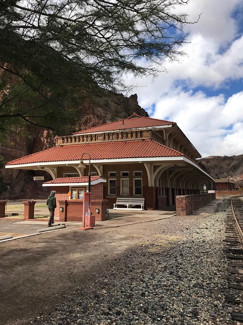 Clifton and Morenci Train station