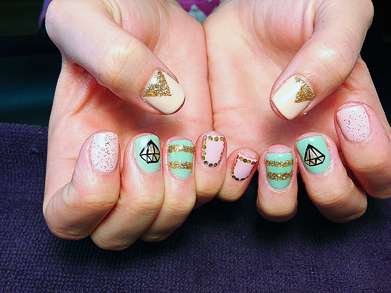 23 Pictures Of Gel Nail Art Polish Designs Gallery - Nails C