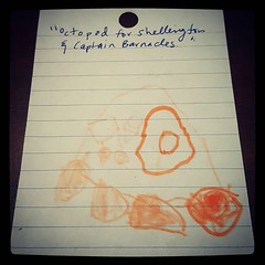 """Octopod for Shellington & Captain Barnacles"" Awe. Some."