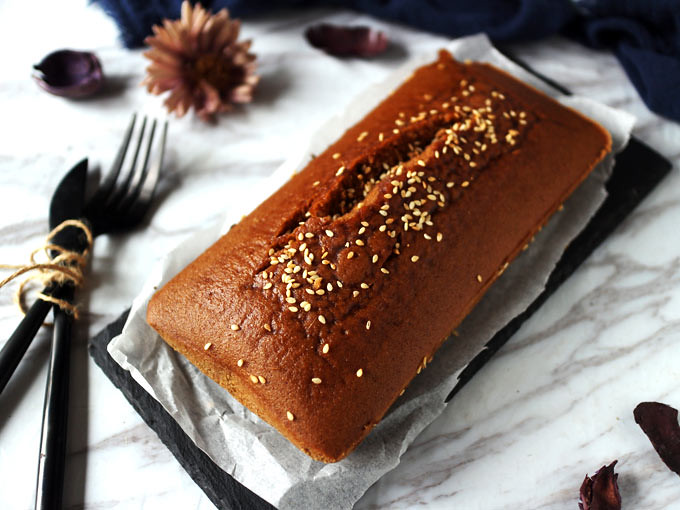 全素無麵粉黑糖糕 vegan-brown-sugar-cake (9)