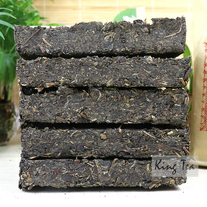2017 XiaGuan BaoYan BianXiaoZhuan  Brick 250g*5=1250g  Puerh Raw Tea Sheng Cha