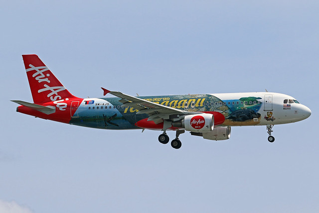 9M-AJS Airbus A320-216 Air Asia cn 4989