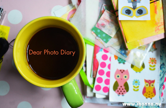 Dear Photo Diary | Pink Polka Dots