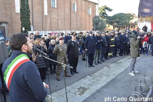 Pistoia celebra il Giorno del ricordo foto Carlo Quartieri