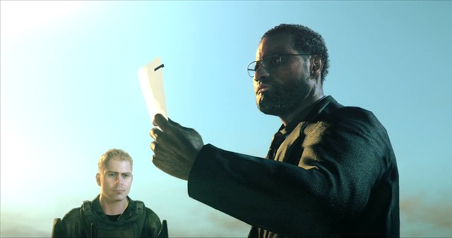 Metal Gear Survive - Fake Larry Fushburne