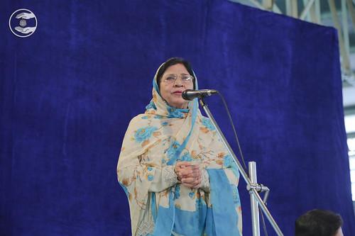 Suraksha Bajaj from Sant Nirankari Colony, expresses her views