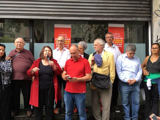 PT de São Paulo lança Comitê em defesa da democracia e do ex-presidente Lula