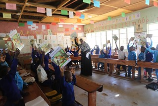 'Let's Read Together' project, Tanzania