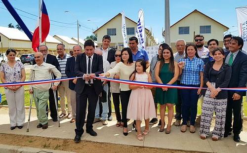 RETIRO; Serviu Maule entregó llaves a 156 familias que habitarán Villa Nuevo Sueño