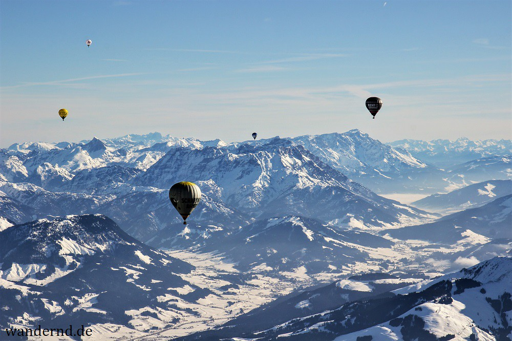 Hot Air Balloon Ride Tyrol - Ballonfahrt Tirol