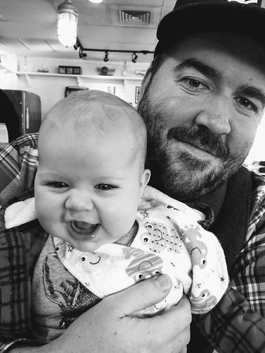 Dad Josiah & baby Marika Rose