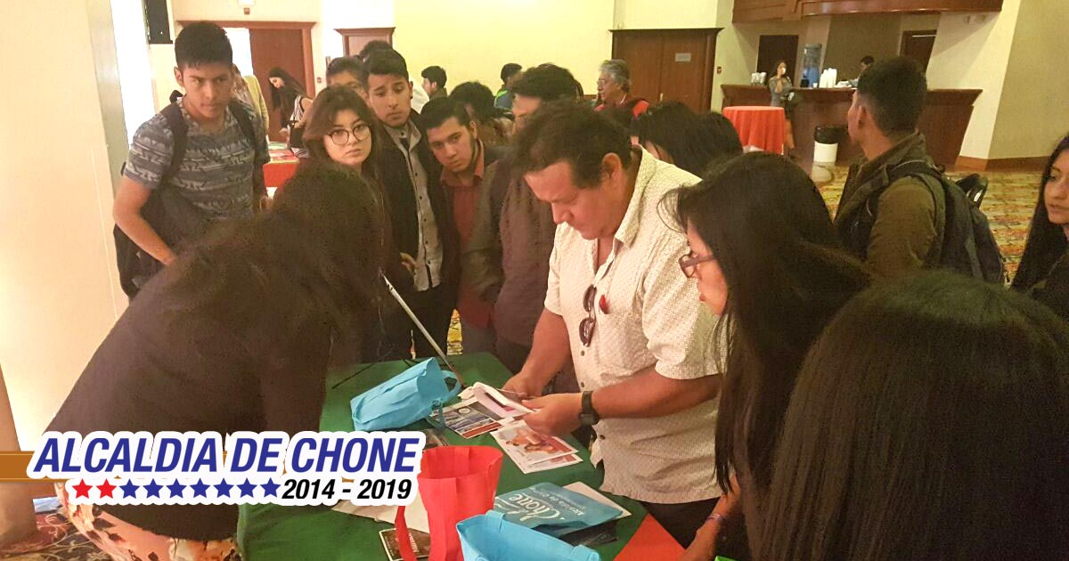 Chone participó de lanzamiento de temporada turística
