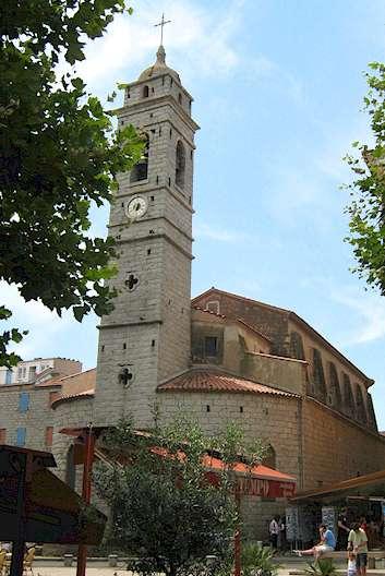 Eglise Saint Jean Baptist Porto Vecchio