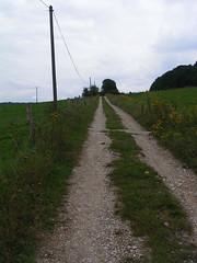 20070831 12005 0707 Jakobus Weg Wiese Häuser