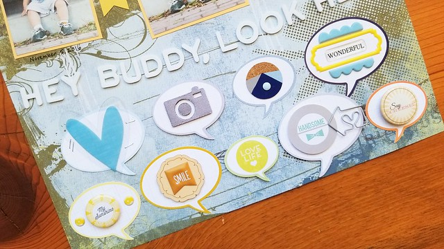 Hey Buddy, Look Here Layout | shirley shirley bo birley Blog