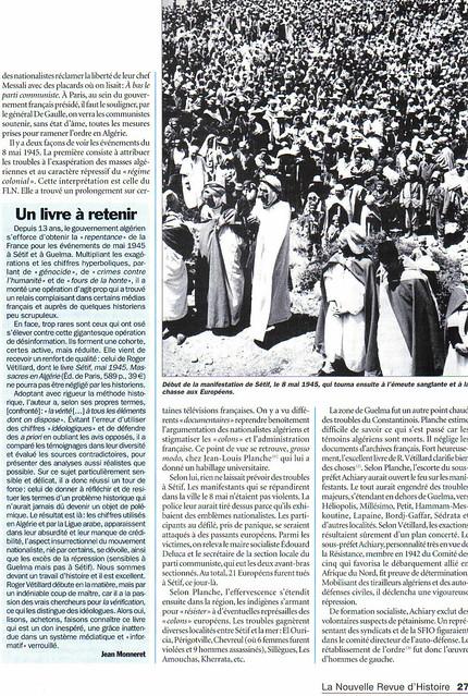 2 - L'insurrection du 8 mai 1945, en Algérie