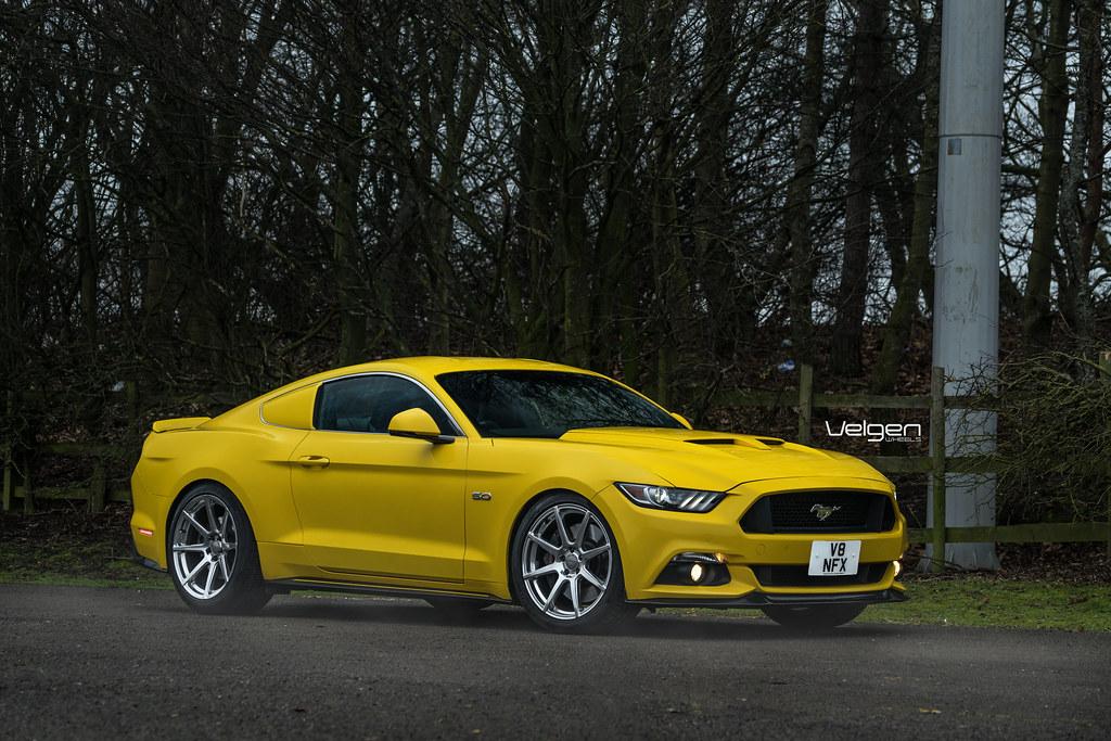 Mustang Gt Velgen Wheels Vmb8 Mustang Gt On Velgen Wheels