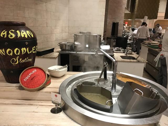 Medley Buffet, Asian Noodle Station
