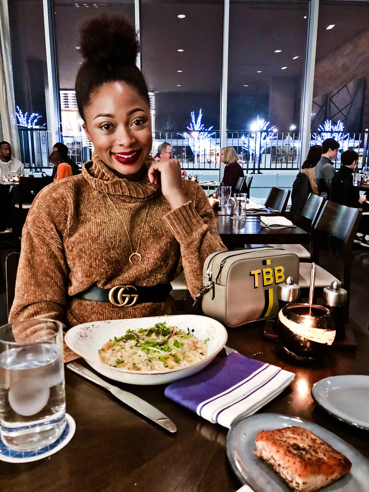 butternut squash risotto, Dallas fashion blogger