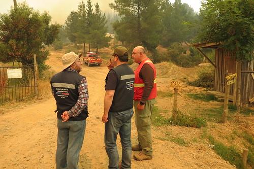 TALCA; Gobernación Maulina evalúa prevención y combate de Incendios Forestales