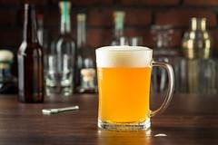 Refreshing Golden Beer Lager