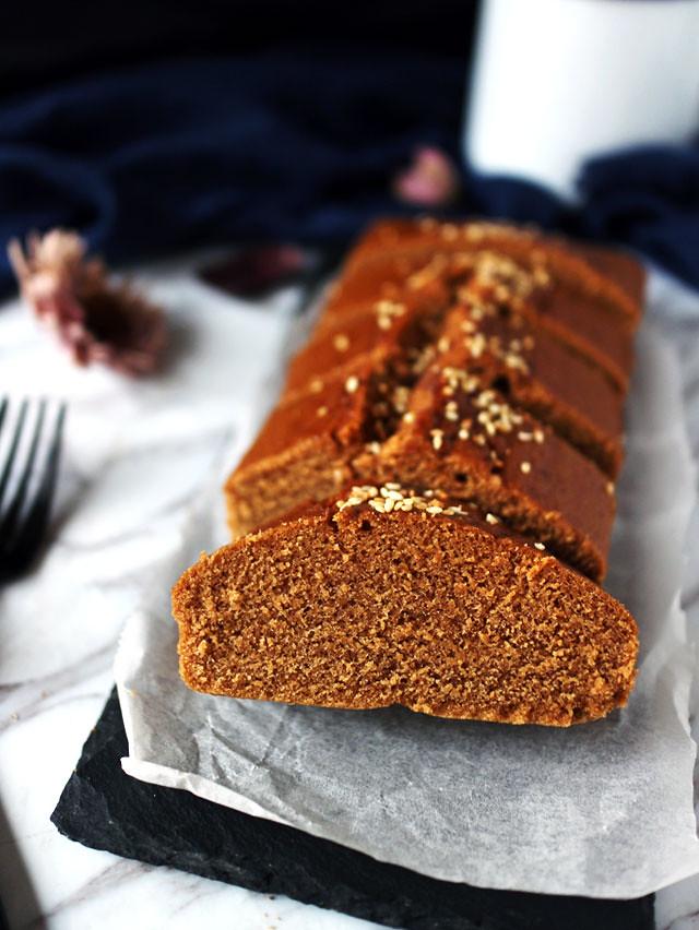全素無麵粉黑糖糕 vegan-brown-sugar-cake (7)