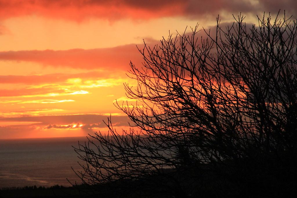 Sunset, Ermida Nossa Senhora Da Paz