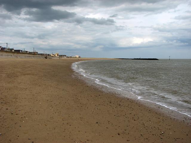 The beach at Jaywick