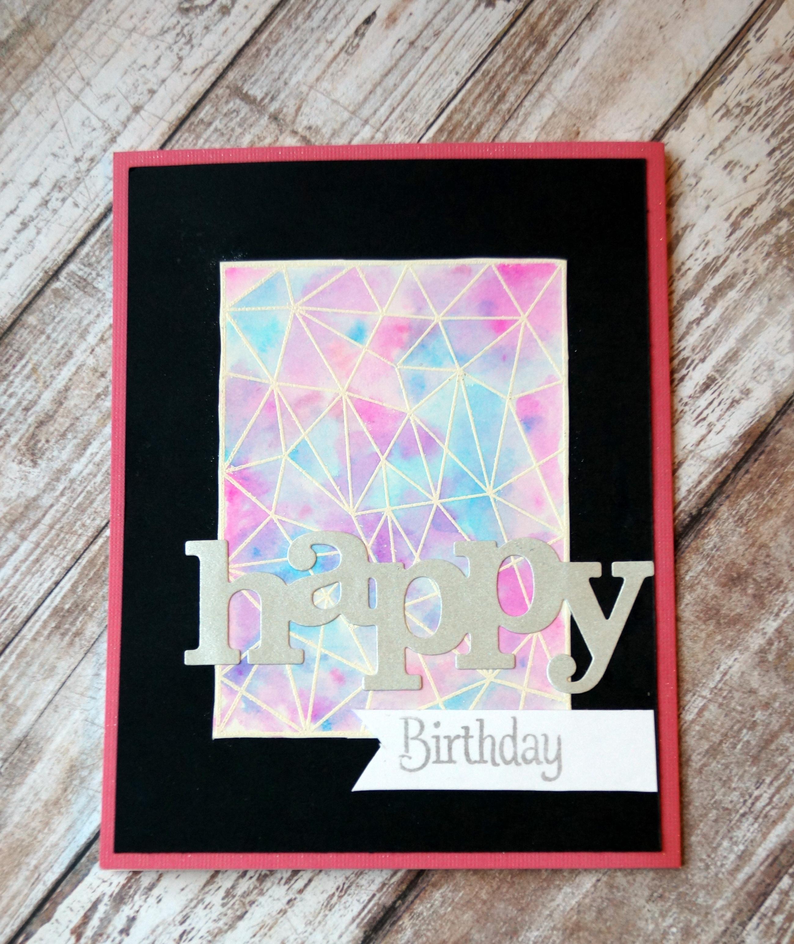 Happy Birthday W&W teen card