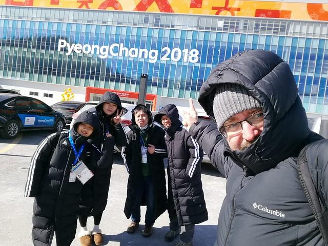 Quique en Pyeongchang