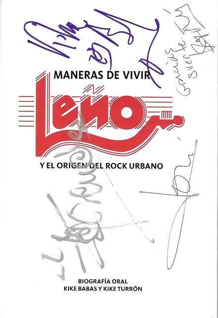 Leño -02- Maneras de Vivir 02 Cículo Bellas Artes