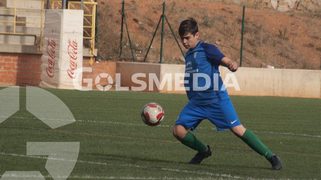 Cadetes. CD Castellón - CF Escuelas San José (10/02/2018), Jorge Sastriques
