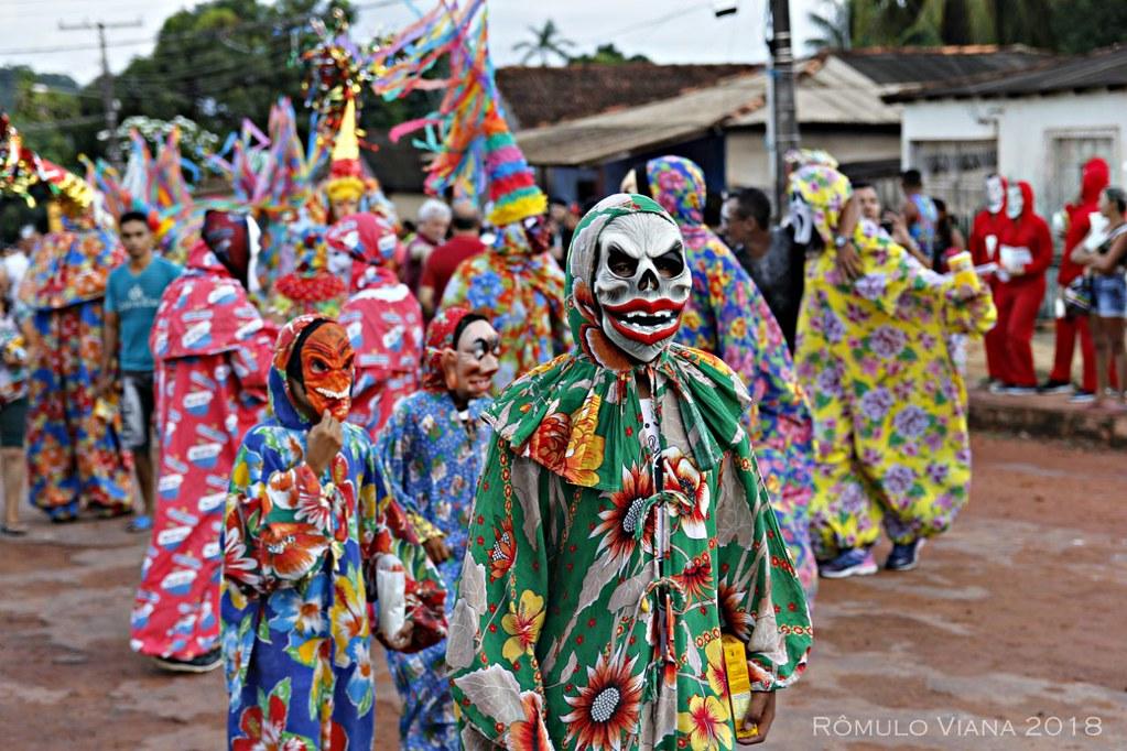 O Carnaval popular de Óbidos, no Pará, em 7 fotos de Rômulo Viana, Carna 2018 - OBD - Rômulo Viana