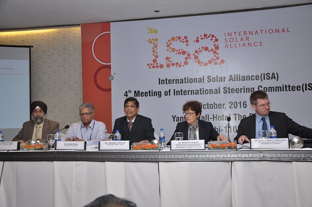 4th meeting of the International Steering Committee (ISC) of ISA
