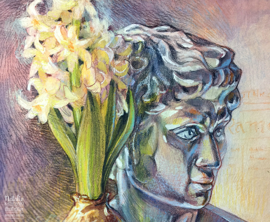 Spring head, detail