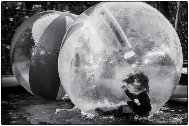 L'enfant bulle !