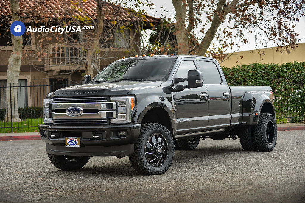 "2018 Ford F-350 Dually Super Duty | 20"" Fuel Wheels ..."