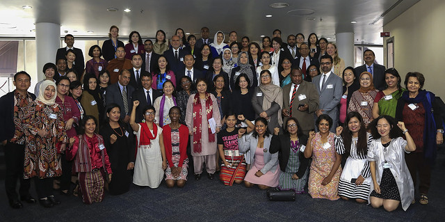 Asia-Pacific High-level Meeting for CSW62 | High-Level Roundtable at UNCC Bangkok
