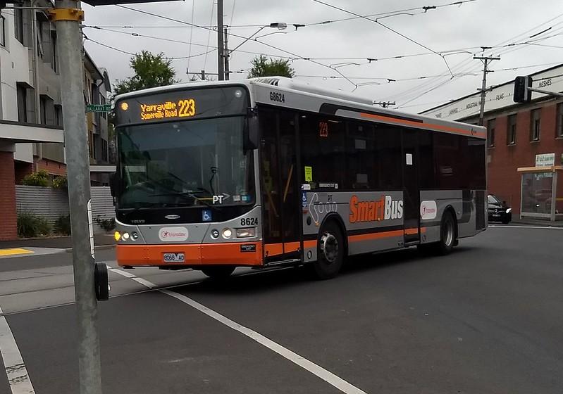 Smartbus livery on non-Smartbus route