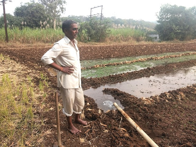 "The river is a source of water for agriculture as it flows through the rural areas around Pune before being dammed at Khadakwasla. Shivaji Ranaware, a farmer who owns 10 acres of land says, ""I use water from the borewell in my farm, which is always full. We never face water scarcity in this area."""