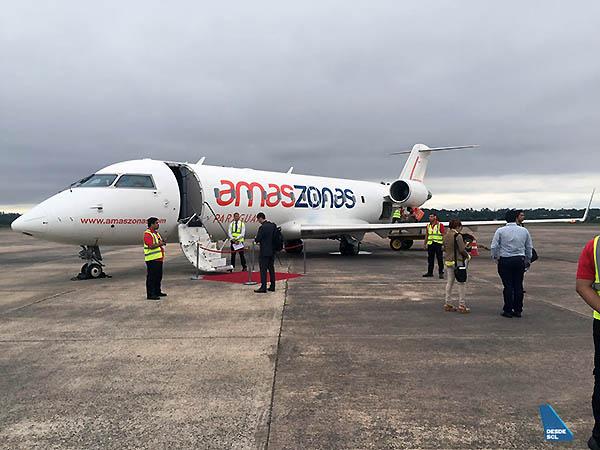 Amaszonas Paraguay (Aeronáutica PY)