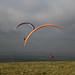 SDW: Fulking Hill - paragliders