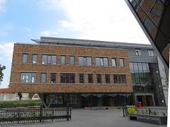 Voorzijde Citadel College met nestvoorzieningen