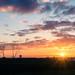 Sunrise towards London